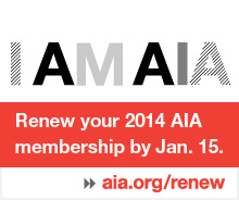 Renew your 2014 AIA membership by January 15