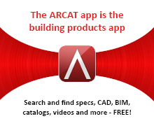 The ARCAT app is the building products app