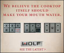 Wolf Cooktops: We believe the cooktop itself should make your mouth water