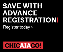 AIA Chicagor: Save with advance registration