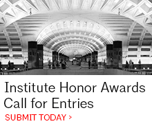 Institute Honor Awards all for Entries