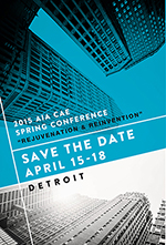 CAE 2015 Spring Conference Save the Date