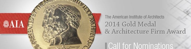 AIA Gold Medal Award & Architecture Firm Award